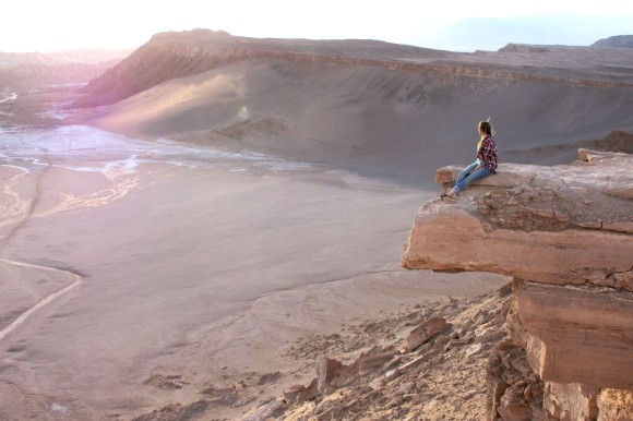 The first evening of my first 'solo' trip to the moon! Valley of the Moon, Atacama Desert, Chile.